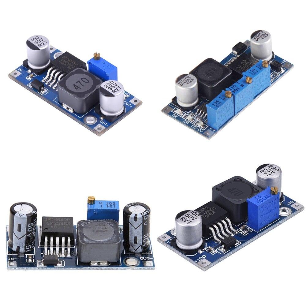 Regulador de voltaje 3A lm2596 LM2596S DC-DC 3-40V módulo de fuente de alimentación reductor ajustable XL6009