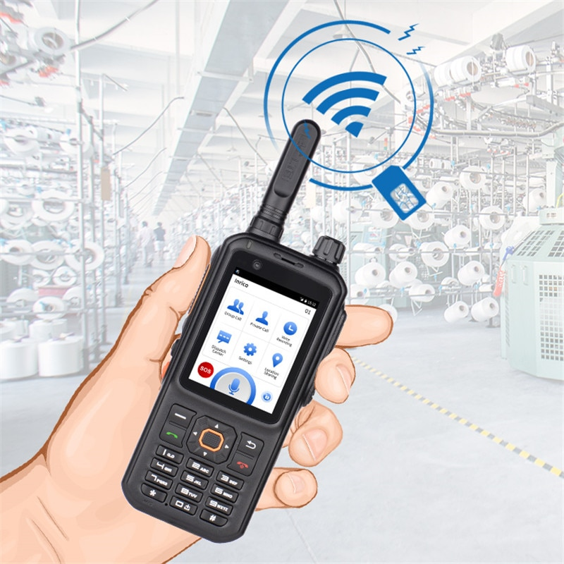 Inrico T320 zello walky talky CB radio locator transceiver with camera touch screen Network Poc Walkie Talkie long range 50km