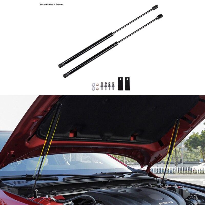 Cubierta de motor de coche barra de soporte de varilla hidráulica campana de Gas barras de resorte de elevación para Mazda 3 Axela 2019 2020 accesorios de coche