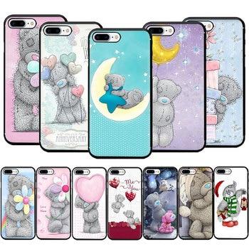 Tatty Teddy bear cute Soft TPU Phone Case for iPhone SE 2020 11 Pro 5 5s 6 6s 7 8 Plus X XR XS MAX