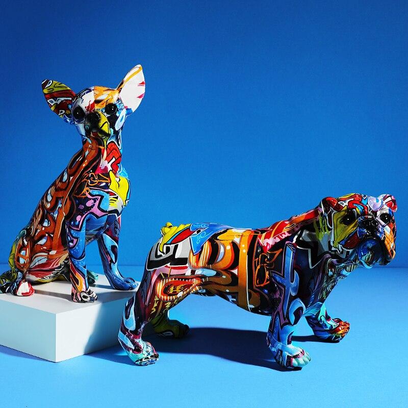 Gabinete de Vinho Escultura Decoração Animal Resina Artesanato Casa Cor