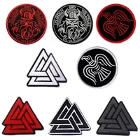 1pc empire tactics viking symbol pirate tactics morale chapter embroidery armband clothing backpack jacket patch badge