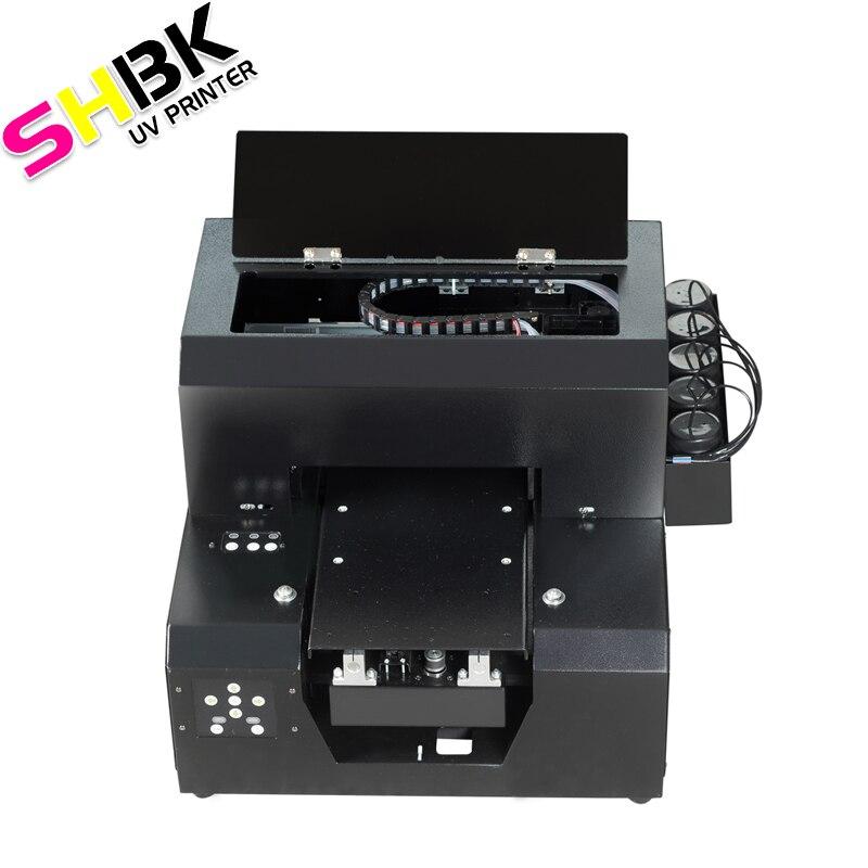 ¡SHBK! ¡Novedad de 2020! Impresora automática multifunción DTG, gran oferta, impresora UV A4 para Metal plástico de madera con tinta de secado rápido