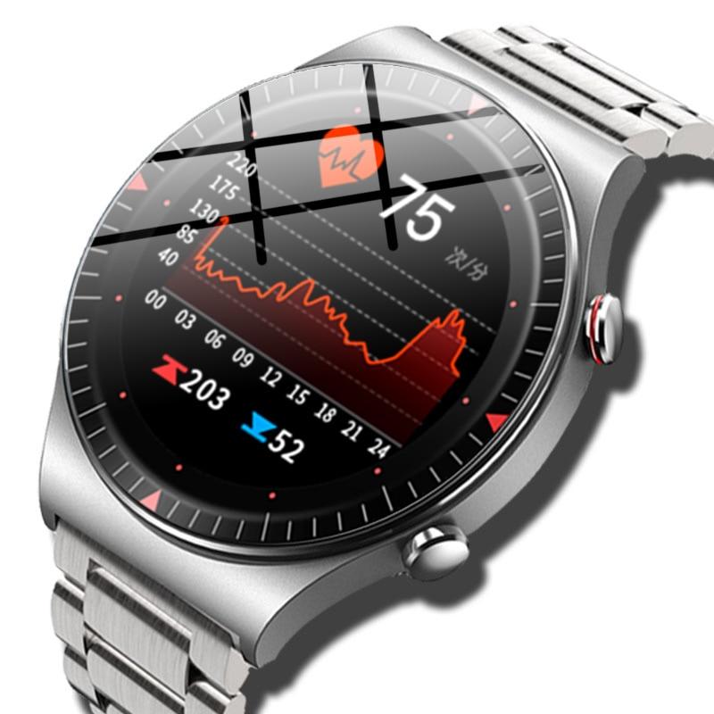 2021 بلوتوث دعوة ساعة ذكية الرجال 4G بطاقة الذاكرة مشغل موسيقى smartwatch ل أندرويد ios الهاتف تسجيل جهاز مراقبة اللياقة الرياضية