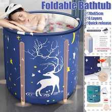 70x65cm pliant Portable PVC adulte baignoire eau Spa baignoire seau de bain intérieur extérieur baignoire épaissir les baignoires gonflables