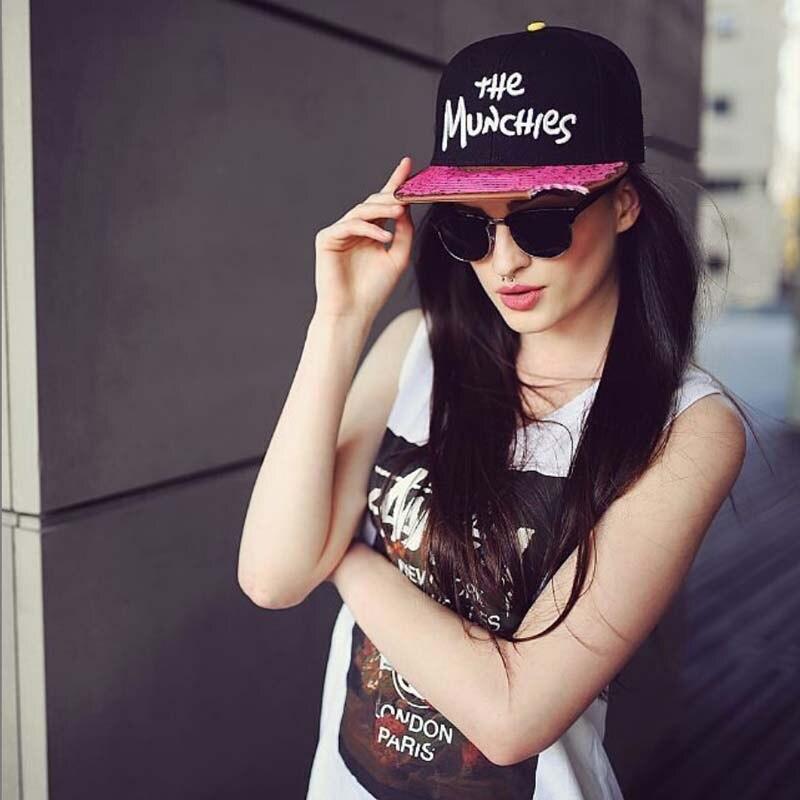 2020 nova chegada gorra os munchies bordado snapback bonés de rap chapéu para homens feminino hip hop boné moda rua estilo touca chapéus