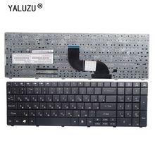 YALUZU clavier dordinateur portable russe pour ACER pour Aspire E1-531 E1-571G RU mise en page noir nouveau clavier entièrement testé haute qualité remplacer