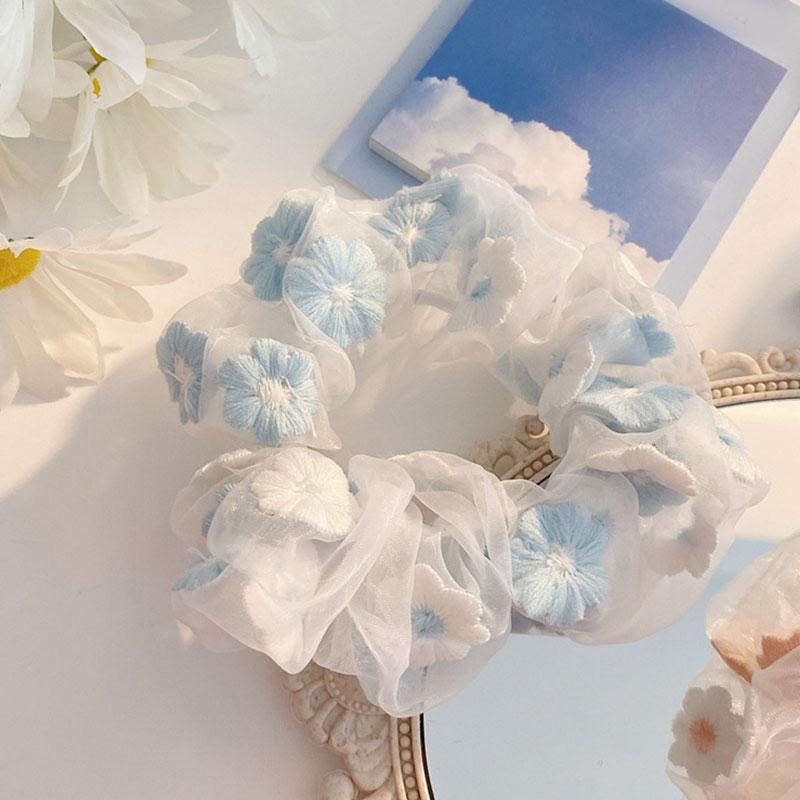 Slatki ženski mrežasti cvjetovi za vez, romantično ružičasto i - Pribor za odjeću - Foto 2