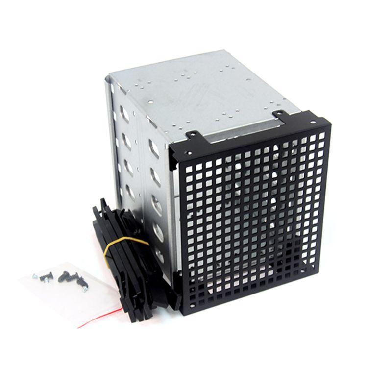 حامل قرص صلب HDD من الفولاذ المقاوم للصدأ ، سعة كبيرة ، علبة قرص صلب SATA ، ملحقات الكمبيوتر