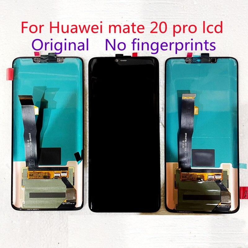 لهواوي ماتي 20 برو lcd الأصلي سوبر AMOLED شاشة تعمل باللمس ، mate20pro لا الإطار ، لا بصمة ، مع النقاط السوداء 3