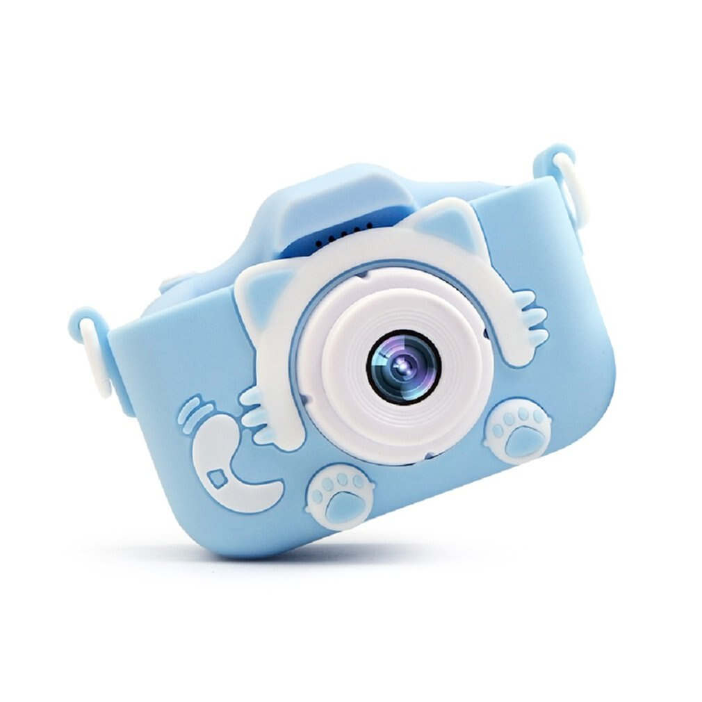 X5S Children's Camera Cute Toy Cat Mini Digital Camera IPS Screen Education Toys For Kids Camera for