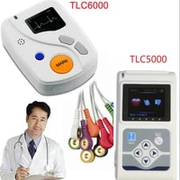 hot contec tlc5000tlc6000 12 channels ecg ekg system holter dynamic electrocardiograph usb