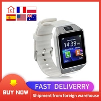 Умные часы DZ09 с поддержкой TF-карты и SIM-камерой, спортивные наручные часы с Bluetooth для телефонов Samsung, Huawei, Xiaomi, Android