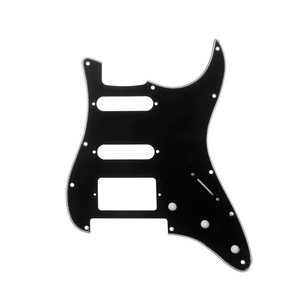 Musiclily Pro 11-Hole Strat guitarra HSS golpeador para guardabarros Americano/mexicano Stratocaster Floyd...