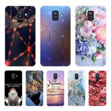 for Samsung Galaxy A6 2018 mobile phone case SIM SM A600 A600F for Samsung A6 plus 2018 A605 A605F phone case protective case