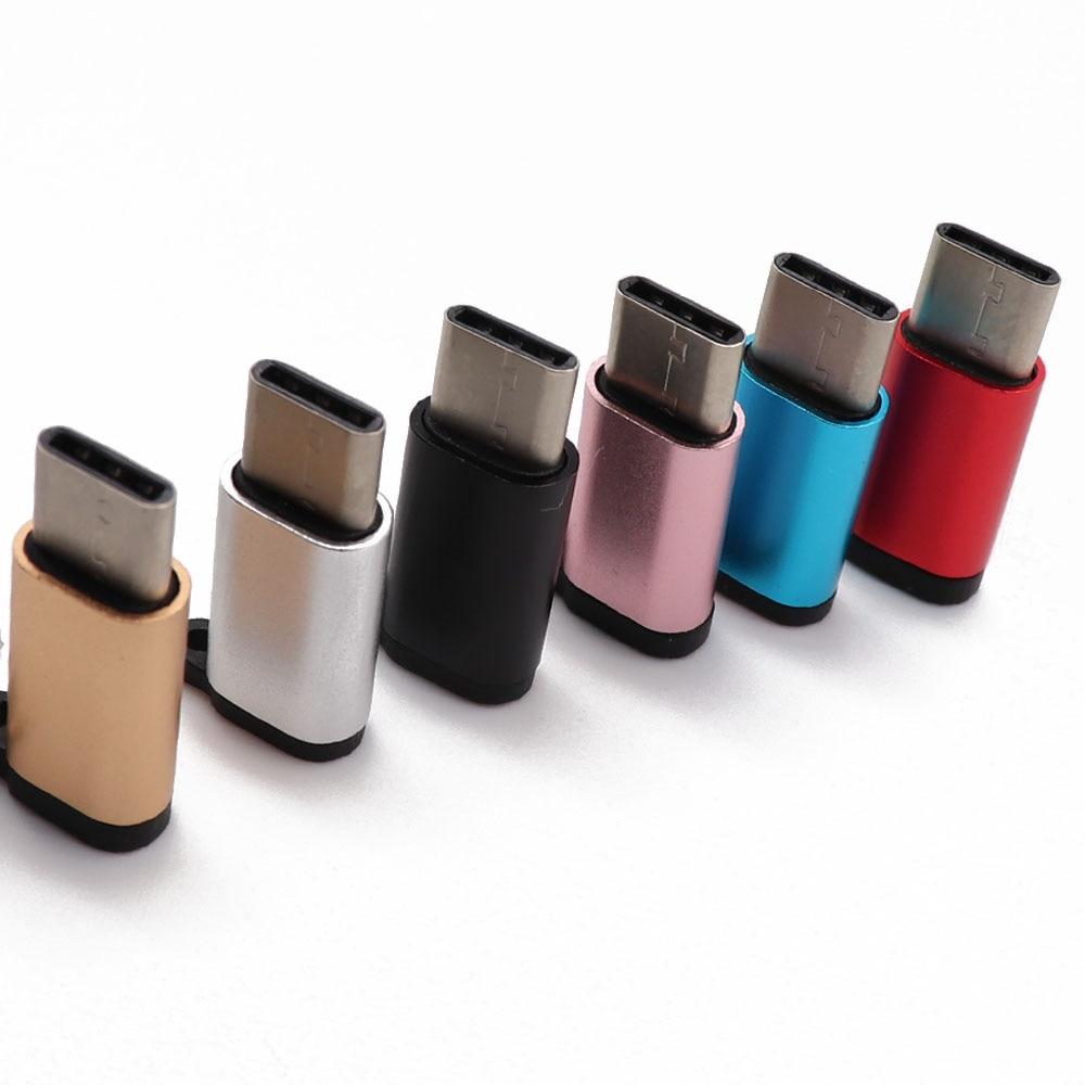 Переходник с Micro USB «Мама» на USBC «папа» для Xiaomi, для Huawei P30 Pro, Samsung S9, S10 Plus, зарядное устройство с Micro Usb на Type-C