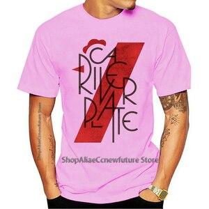 2021 Leisure Fashion Large T-shirt 100% Cotton  MEME FAN RIVER PLATE ARGENTINA CALCIO MONUMENTAL 1 S-M-L-XL-2XL-3XL
