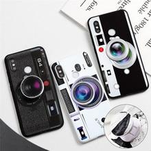 Support de caméra Pour Xiaomi Redmi Note 8 5 6 7 Pro 8T Plus 7A 8A K20 K30 Km A1 A2 A3 8 9 Lite SE 9T Jouer F1 CC9 CC9e TPU