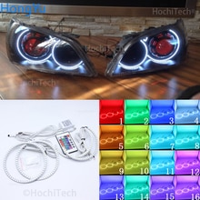 Pour LEXUS IS200 IS300 1998-2005 phare Angel Eye, anneau Halo RGB kits de phares Sport multicolores