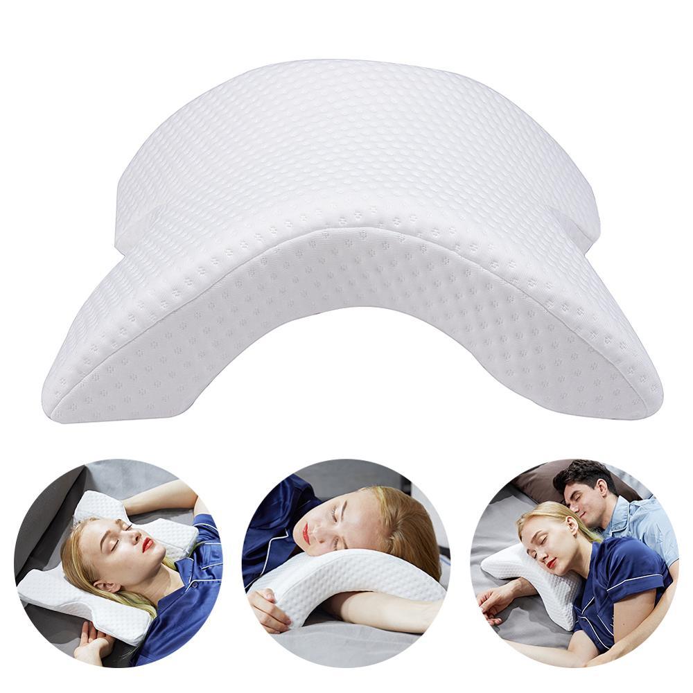 Almohada para el cuello Yimeis, almohada ortopédica de arco lento, almohada de espuma de memoria para parejas PW47110