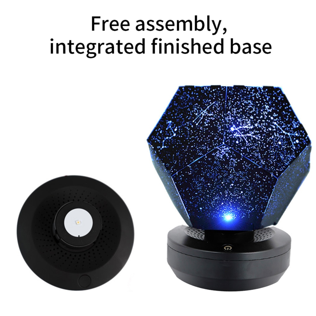 Galaxy projector starry sky lamp DIY Original for room Home  Gift Children Bedroom Decorative Light USB Night Light enlarge