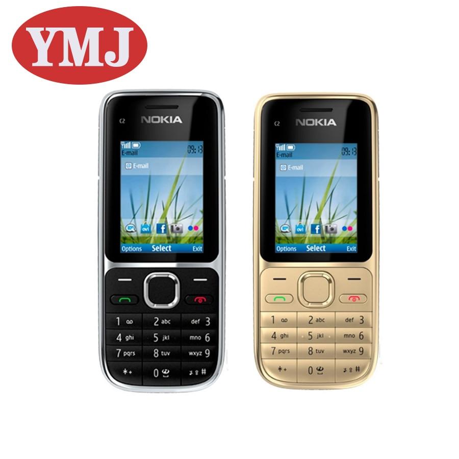 Перейти на Алиэкспресс и купить Добавить в «Мои желания» оригинальный Nokia C2 C2-01 разблокирована GSM/WCDMA мобильный телефон на английском языке и арабский и иврит и русская клав...