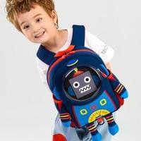 2020 New Creative Robot School Bags for Boy Cartoon Superhero Design Children's Backpack Student Kids Bag Gift Mochila Escolar