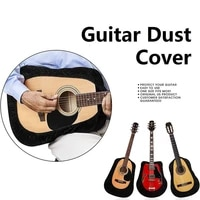 hot sales guitar cover velvet guitar protector gig bag protective sleeve for acoustic classical flamenco arch top 40p