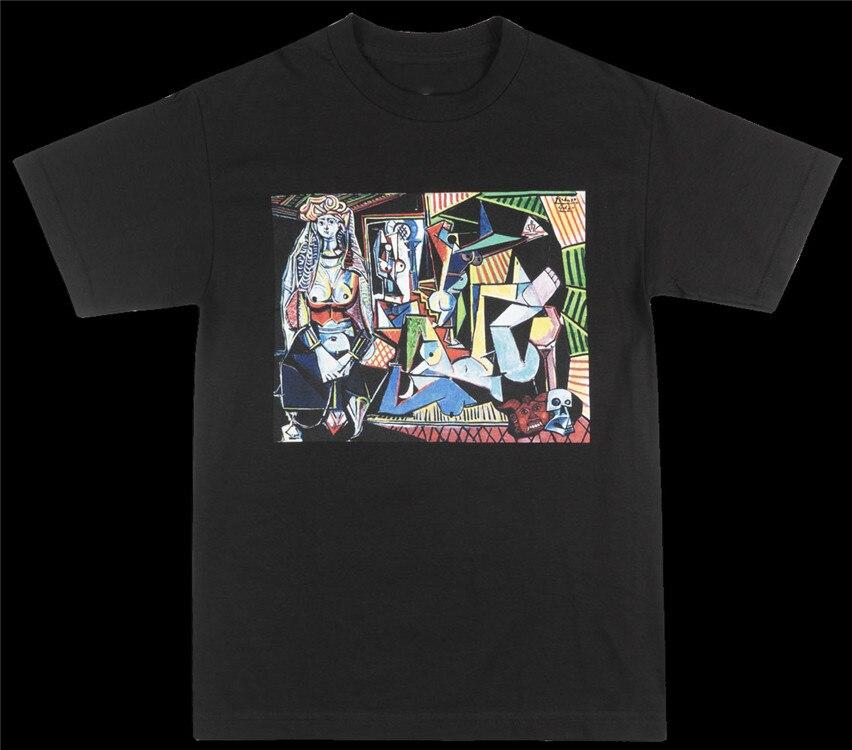 BLACK SCALE X GOLGO X PICASSO T-SHIRT MENS BLVCK SCVLE OCCULT FASHION TEE Harajuku Hip Hop Tee Tshirt