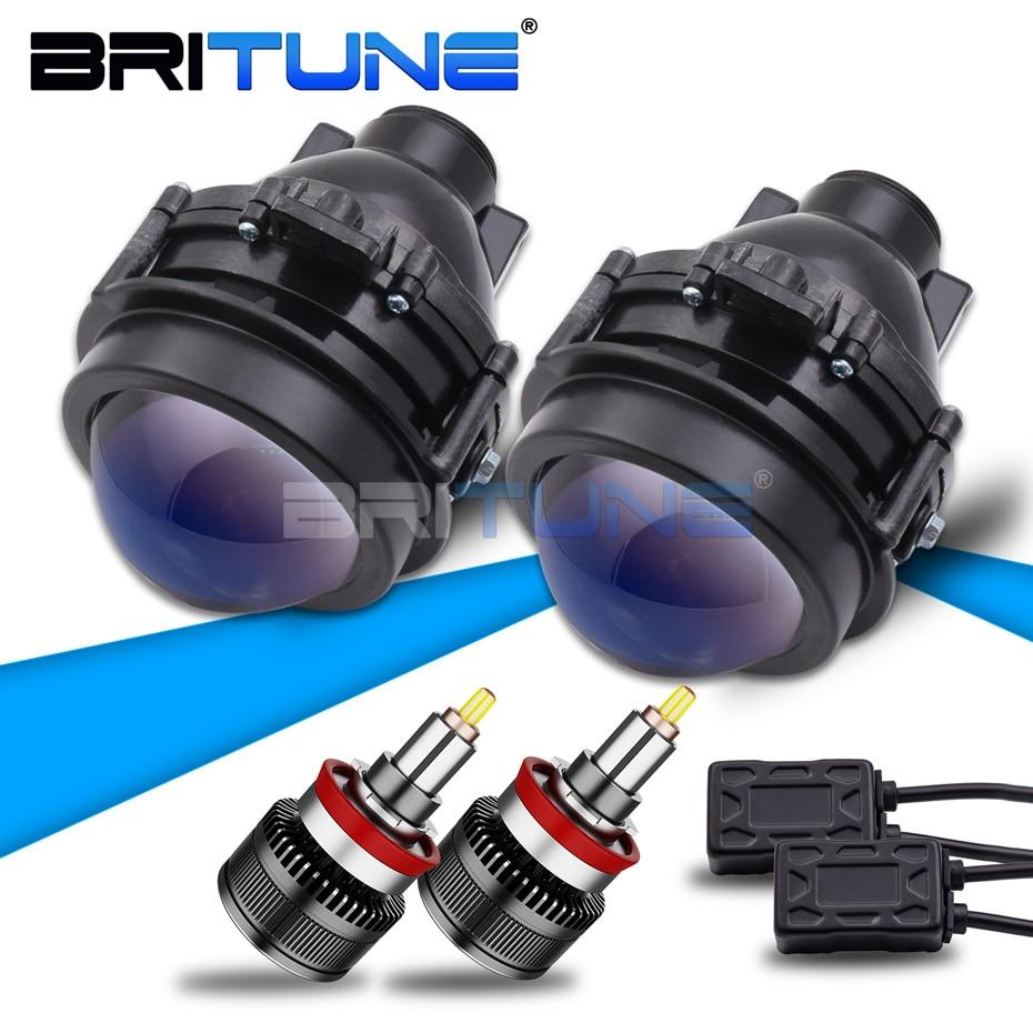 PTF Projector Lens Fog Light For Opel Antara/Chevrolet Cruze/Orlando/Trax/Tracker LED H11 D2H Lamp Car Lights Accessories Tuning