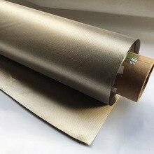 1X التأريض التأريض EMF RF تتفاعل قماش واقي للإشعاع المواد الواقية النحاس