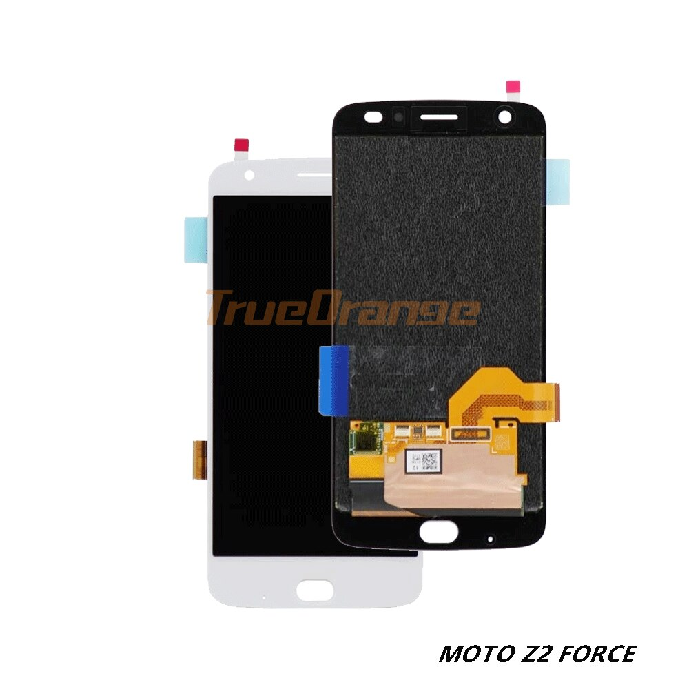 Para Motorola Moto Z2 fuerza LCD 5,5 Display MONTAJE DE digitalizador con pantalla táctil con Marco, sustitución de pantalla para XT1789 Xt1789