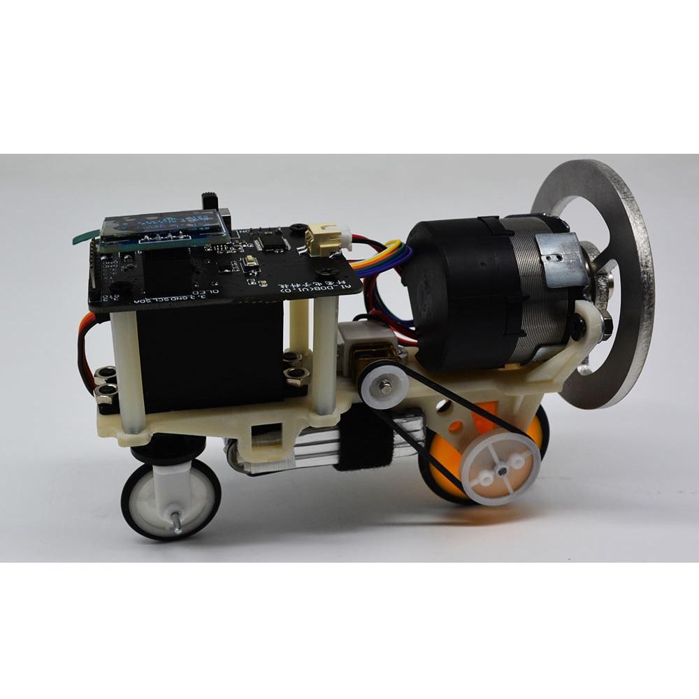 Open Source STM32 Balance Car Inertia Wheel Balance Bike Bluetooth-compatible RC Pid Control DIY Smart Robot Cheap