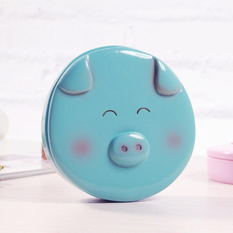 Resin Baby Tooth Box cute cartoon Little Pig Boy Gir Baby Lanugo Teeth Storage Box souvenir Newborn 1 2 3 Years Gift