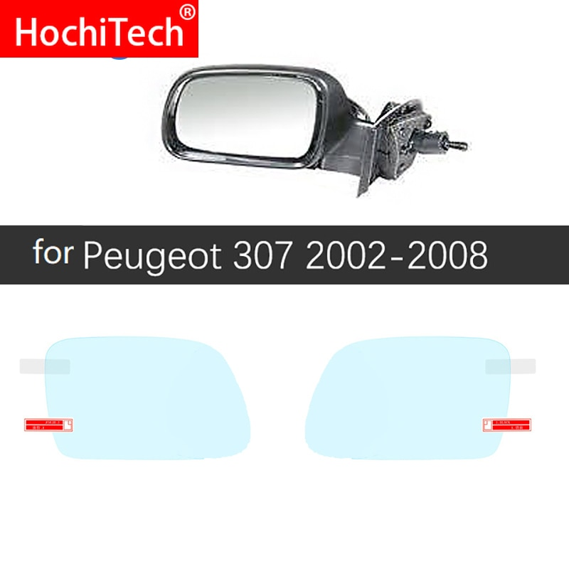 Para Peugeot 307 307sw 307cc de la cubierta completa Anti niebla película espejo retrovisor impermeable accesorios 2002, 2003, 2004, 2005, 2006, 2007 2008 SW