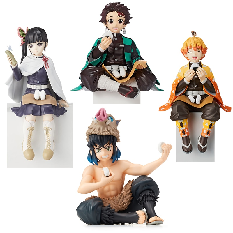Anime Demon Slayer Kimetsu no Yaiba figure Kamado Tanjirou Action Figure Agatsuma Zenitsu Nezuko Warrior PVC Model Toys