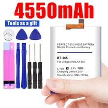 BT-565 4550mAh Ersatz Batterien Für Leagoo KIICAA Mix T5 T5C Smart Handy Akku + freies gfit