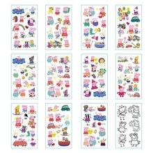Peppa pig children's tattoo stickers cartoon creative fashion environmental protection waterproof durable tattoo stickers