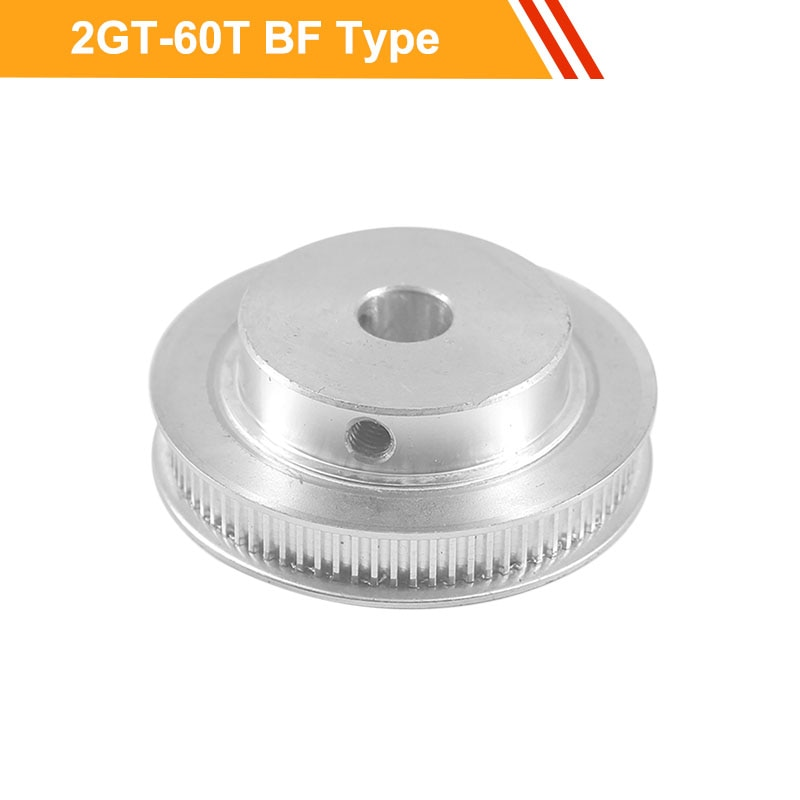 GT2 60T Timing Pulley 7mm/11mm Belt Width 2GT Type CNC Belt Pulley 6/6.35/8/10/12/14mm Bore Synchronous Pulley Wheel