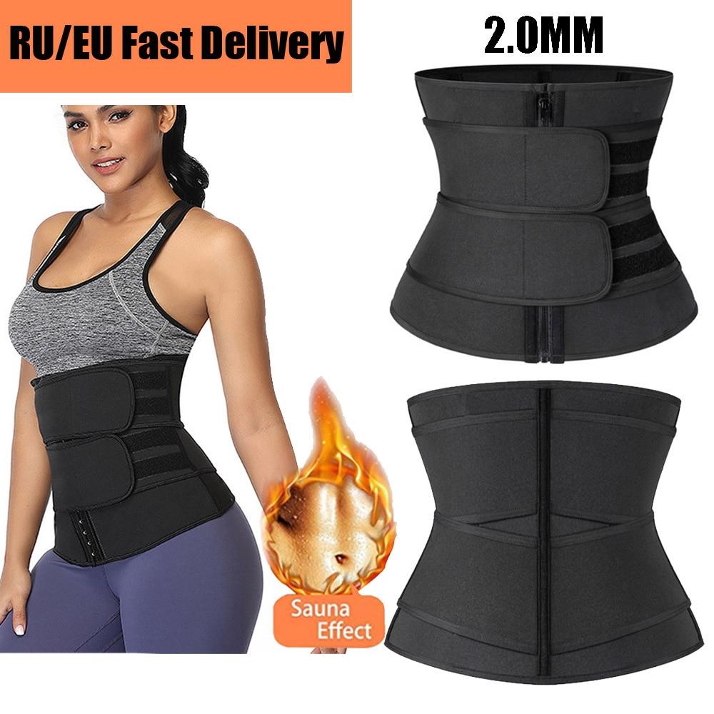 Женское корректирующее белье 2021, Корректирующее белье для талии, тренировочное белье для снижения веса, ремень для похудения, ремень для по...