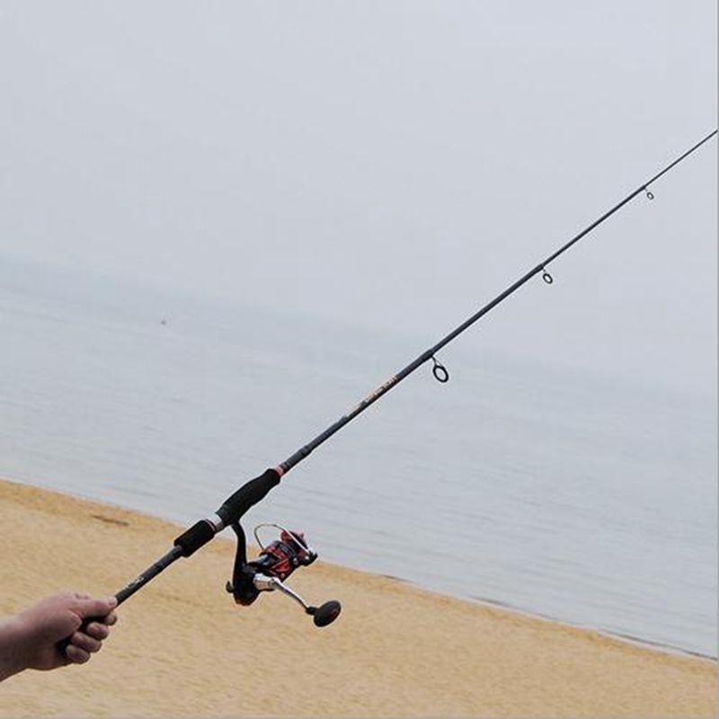 Carbon Fiber 1.95M 2.1M 2.4M 2.7M Telescopic Rock Fishing Rod Surf Lure Rod Sea Fishing Rod Vara De Pesca Fishing Tackle enlarge