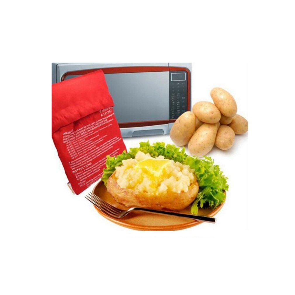 Bolsa lavable para hornear patatas y Cocinar en Microondas