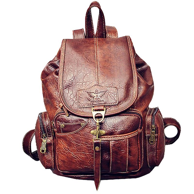 рюкзак 2015 pu mochila 56gy Женский рюкзак mochila feminina, кожаный женский рюкзак mochila mujer, школьный рюкзак для девочек, многофункциональный дорожный рюкзак 2021