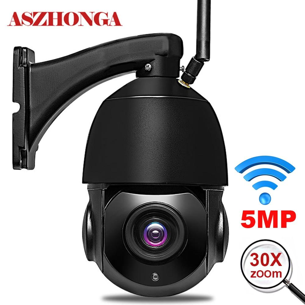 5MP 3MP Wireless Wifi Security Camera Outdoor 1080P HD 30X Optical Zoom Home IP Camera 80M IR Night Vision ONVIF Surveillance