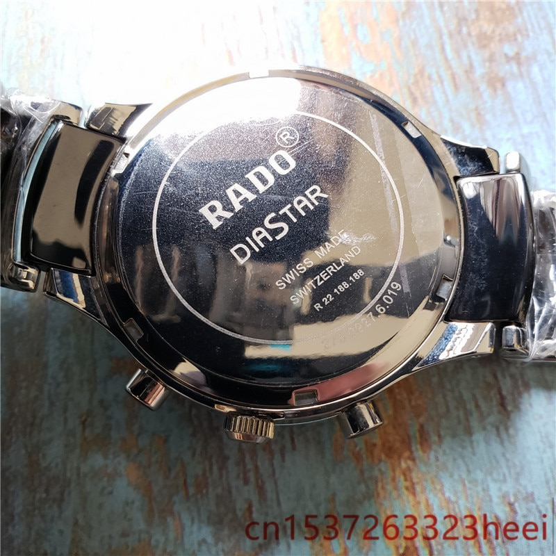 RADO watch men's skeleton automatic mechanical AAA watch gold skeleton retro men's women watch quartz watch enlarge