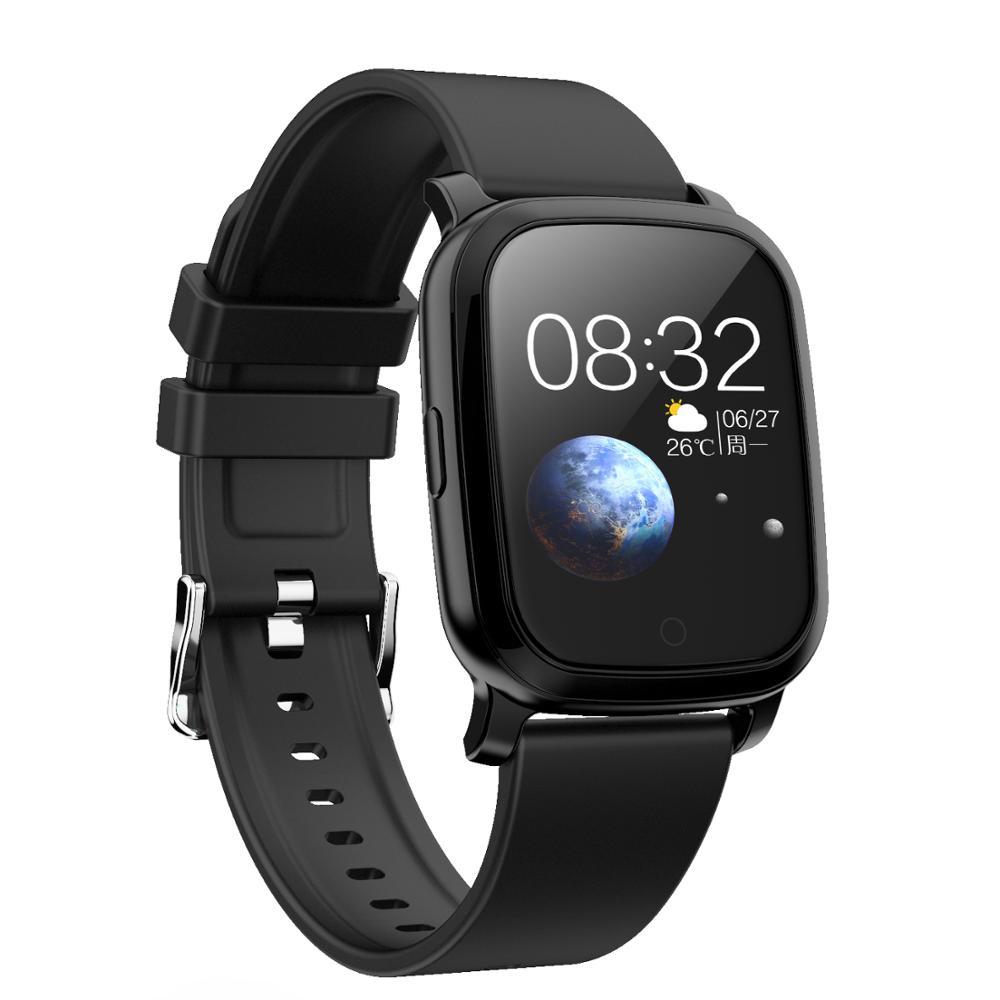 Reloj Digital para mujer, reloj de pulsera para mujer, Monitor de ritmo cardíaco a prueba de agua, pulsera inteligente con Bluetooth para chicas, brazalete elegante para mujer