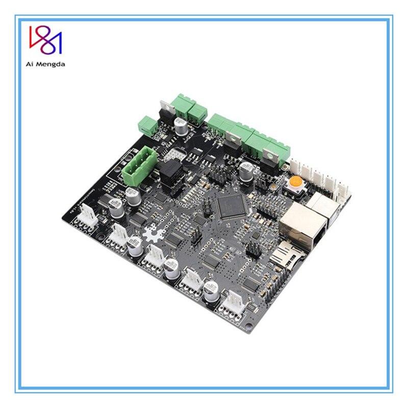 لوحة رئيسية ثلاثية الأبعاد 5XC 5X V1.1 ARM مفتوحة المصدر 32 بت LPC1769 التحكم في Cortex-M3 دعم إيثرنت ل التصنيع باستخدام الحاسب الآلي r20