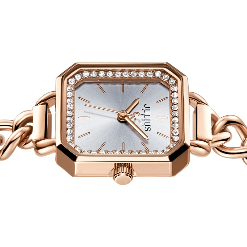 Watches for Women Luxury Watch Stainless Steel Top Brands Fashion Best Seller Gift Bracelet Band Square Crystal Wristwatches enlarge