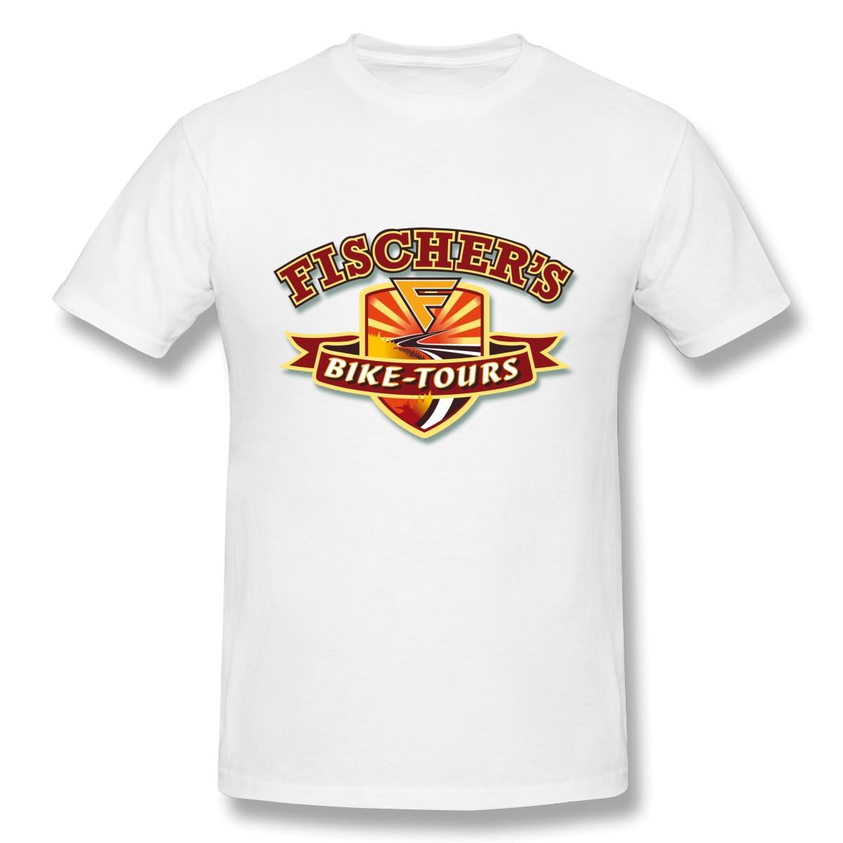 Camiseta harley-davidson, Camiseta de algodón de manga corta de Fisher, camiseta para viajes en bicicleta 4XL 5XL 6XL