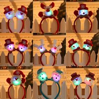 1pcs Christmas Headband Hair Accessories Deer Ears For Kids Adult Christmas Party Deals Santa Xmas Hair Band Clasp Headwear